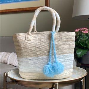 ALTRU brand straw handbag